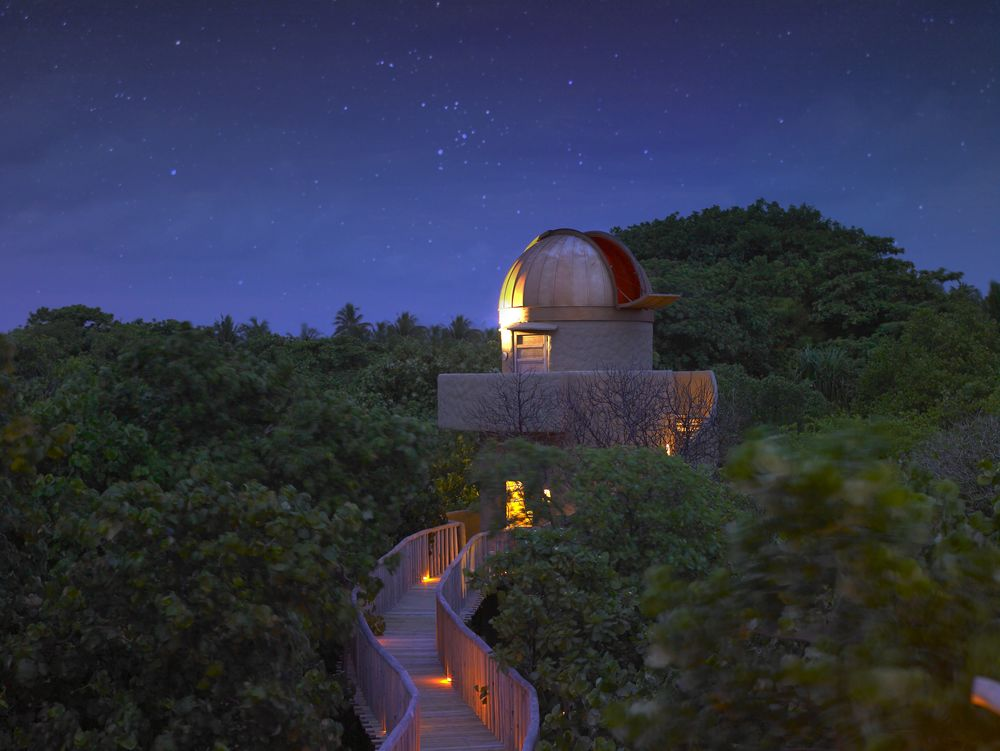 stars and observatory