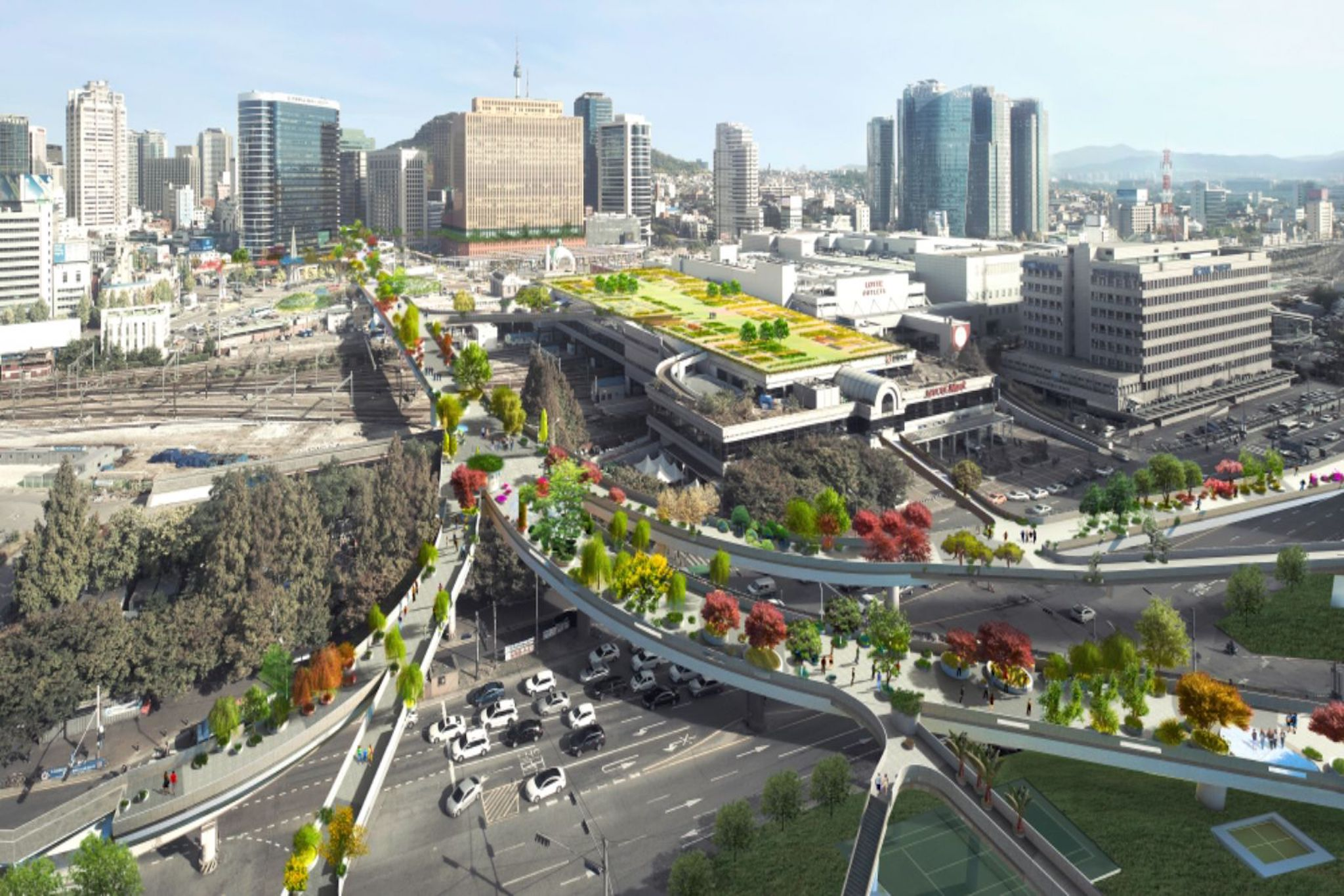 Car With Road >> 5 Rails-to-Trails and Elevated Urban Walkways Around the World