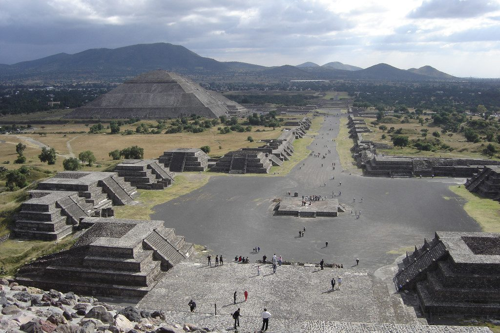 The holy city of Teotihuacan