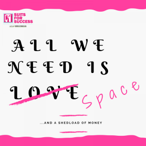 text: all we need is space