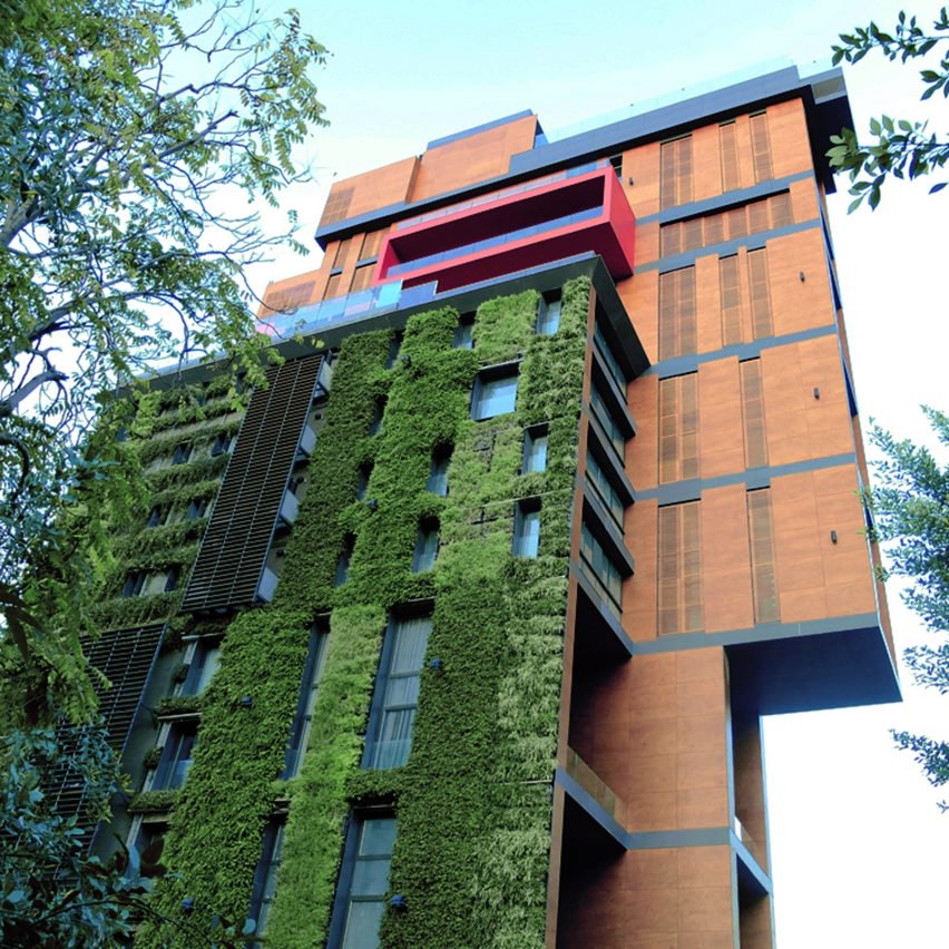 10 Green Buildings With Vertical Gardens And Sustainable