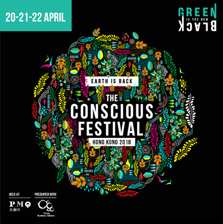 Green is the New Black Conscious Festival banner